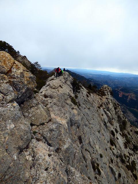 Cresta a la Punta de l'Aigua