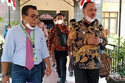 James Uang Hadiri Simposium Regional Perikanan dan Pertanian di Unkhair Ternate