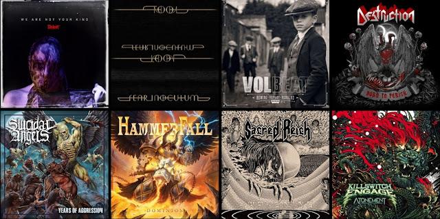 Premiery rock metal sierpień 2019
