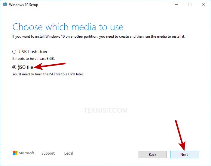 Cara download Windows 10 dengan Media Creation Tool