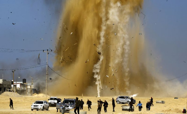Israel Lakukan 25 Serangan ke Jalur Gaza