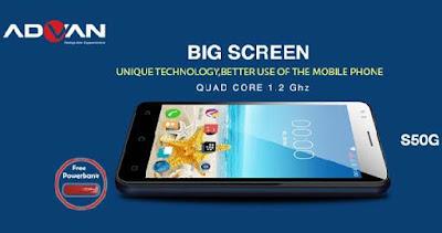 Smartphone Advan Vandroid S50G