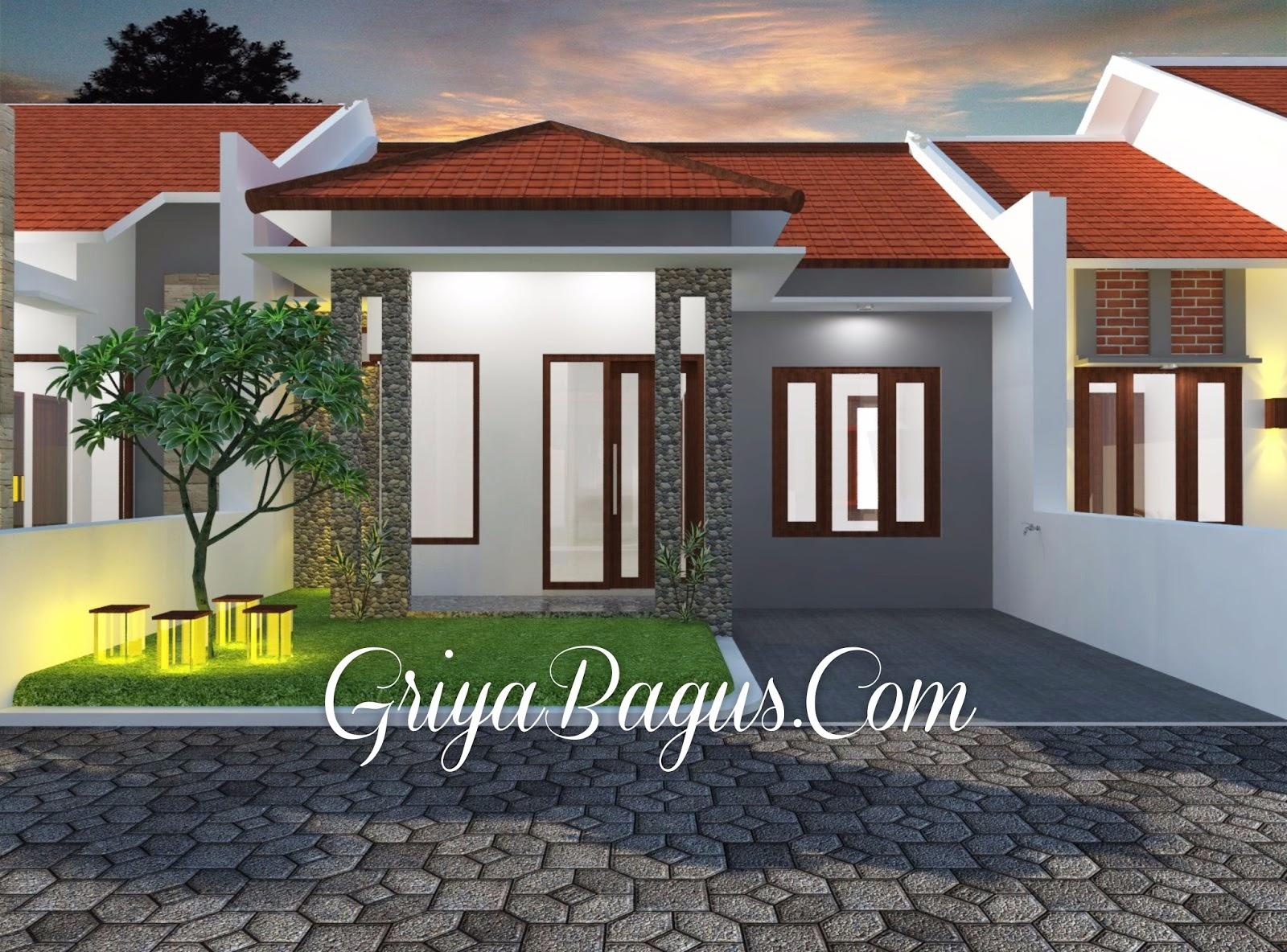 Contoh Desain Rumah Minimalis Tipe 40/104 m2 di Yogyakarta Kavling A3 & Contoh Desain Rumah Minimalis Tipe 40/104 m2 di Yogyakarta Kavling ...