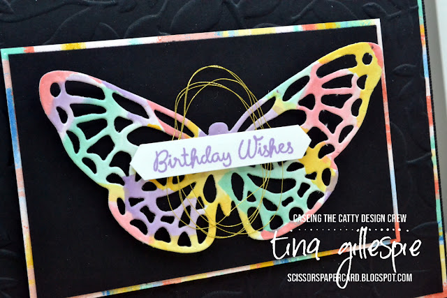 scissorspapercard, Stampin' Up!, CASEing The Catty, Springtime Impressions Dies, Varied Vases, Itty Bitty Birthdays, Follow Your Art DSP, Layered Leaved 3D Embossing Folder
