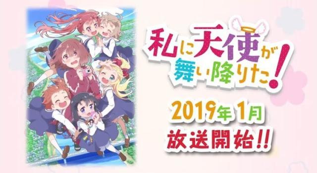 Watashi ni Tenshi ga Maiorita! (Episode 01-12) English Sub