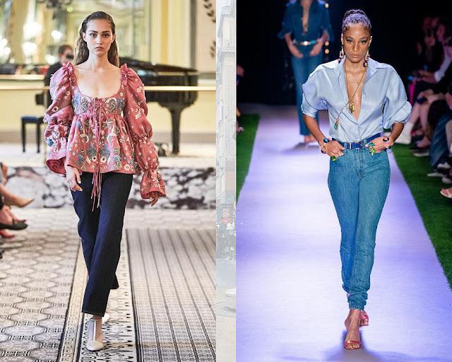 Модные джинсы классика 2