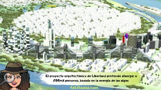 (Imagen) El proyecto arquitectónico pretende albergar a unas 120,000 personas y es una excelente muestra de que Liberland puede ser un eco-estado
