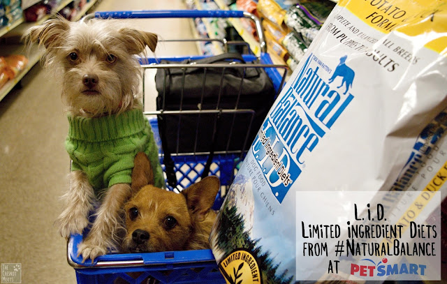 L.I.D. Limited Ingredient Diets from #NaturalBalance at PetSmart