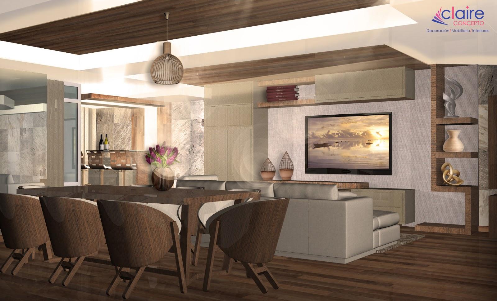 Decoraci n de interiores casas peque as interlomas for Modelos de interiores de casas pequenas