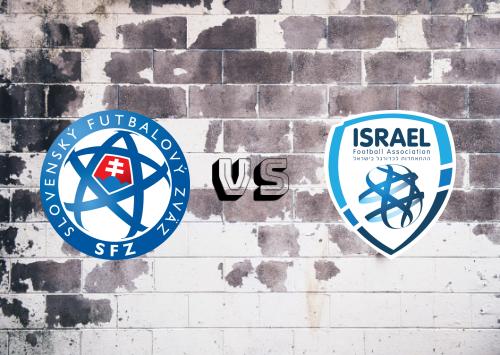Eslovaquia vs Israel  Resumen