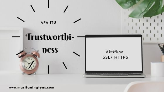 belajar SEO blog algoritma google trustworthiness