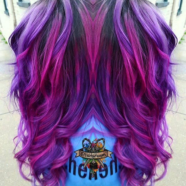 Astonishing Vibrant Hair Colors By Kasey O Hara Maryland