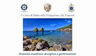 Corso di formazione economico-giuridico sul demanio marittimo