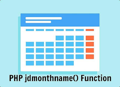 PHP jdmonthname() Function
