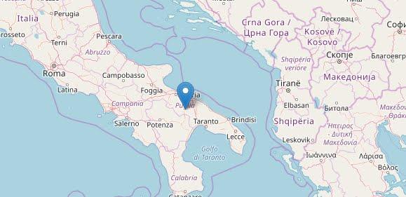 """""""Rumore molto forte come di esplosione"""": Terremoto Oggi Italia Puglia, Scossa M3,5 sentita a Bari e provincia."""