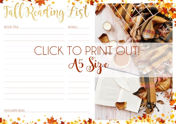 Free Book Journal Printable