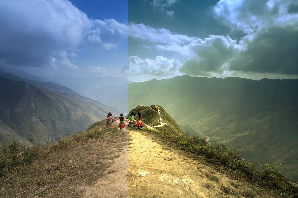 Merubah Warna Foto Lebih Dramatis Dengan Curves Editor