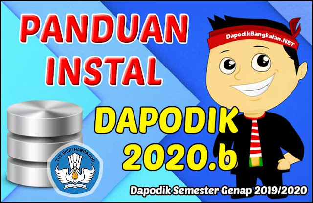 Cara Download dan Instal Dapodik 2020.b