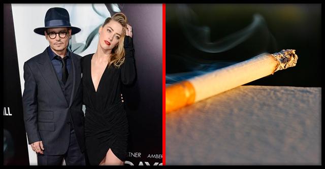 Джонни Депп предоставил доказательства того, что Эмбер Херд тушила об него сигареты