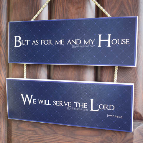 Christian Scripture Hanging Wood Wall Decor in Port Harcourt Nigeria