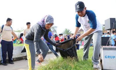 Wagub Ajak Ratusan Siswa SMA/SMK Bandarlampung Peduli Lingkungan