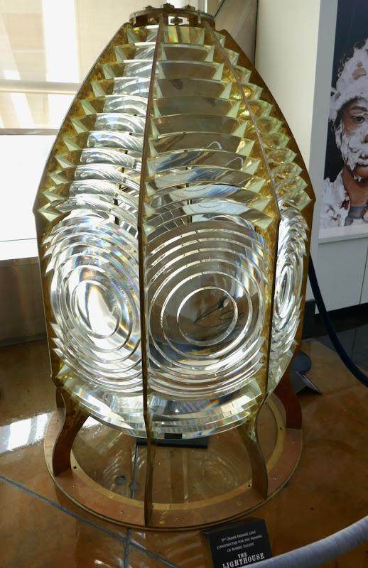Lighthouse 3rd Order Fresnel Lens movie prop