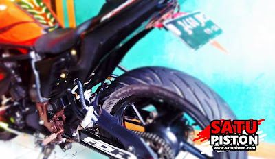 Iseng Potong Spakbor Kolong Yamaha Byson Karbu, Lumayan Juga Tampilannya