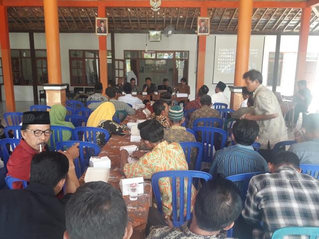 Sosialisasi Rencana pengunaan Dana  DD,ADD dan BKK Desa Newung