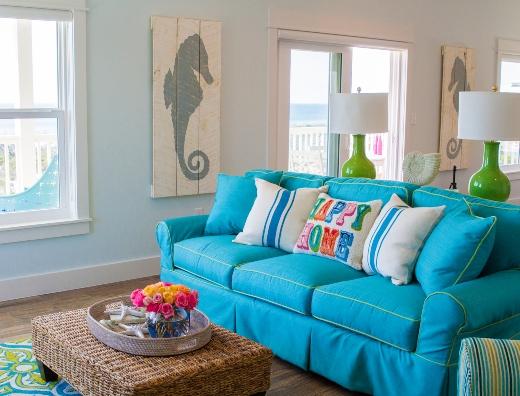Light Blue Wall Paint Ideas Beach Theme Deocr and Design Ideas