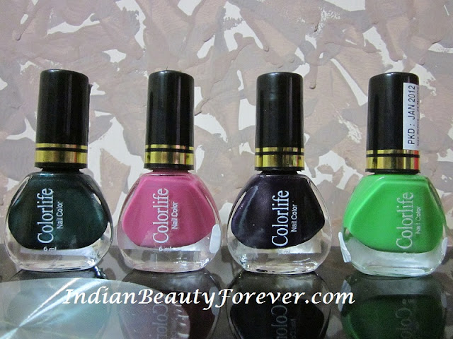 colorlife nail color