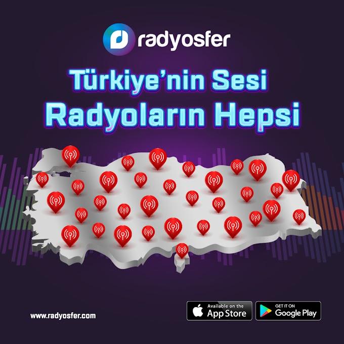 Radyosfer Radyo uygulaması ile Türkiye'deki ulusal ve yerel radyoları dinleyebilirsiniz...