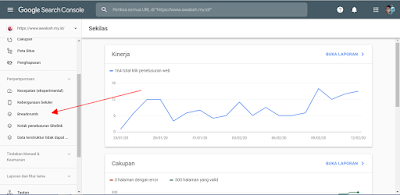 Memperbaiki Error Breadcrumb di Google Search Console