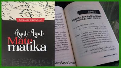 Sekilas Daftar Isi Buku Ayat-ayat Matematika Sekilas Tentang Buku Ayat-ayat Matematika