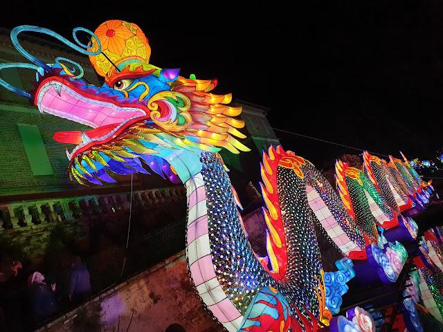 Festival Lanternes Gaillac Blog Hélidée Dragon
