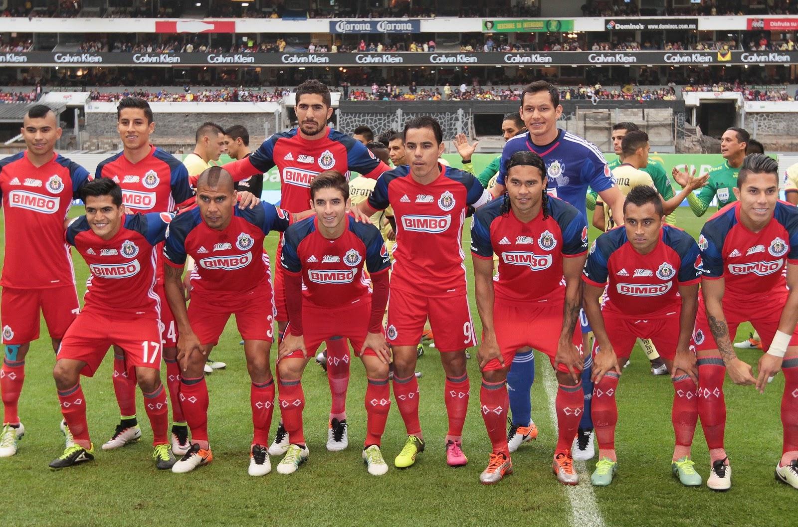 Jugadores de Chivas.