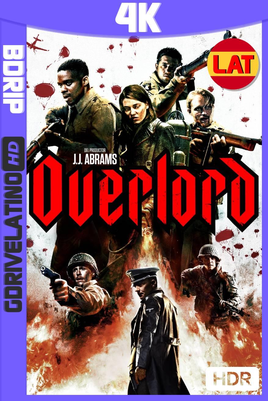Operación Overlord (2018) BDRip 4K HDR Latino-Ingles MKV