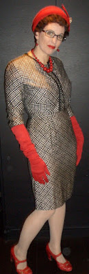 In Fashion Memoriam: 1960s Black & White Check Suit by Gail Carriger