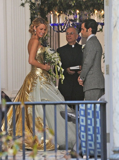 Gossip girl blair and chuck wedding