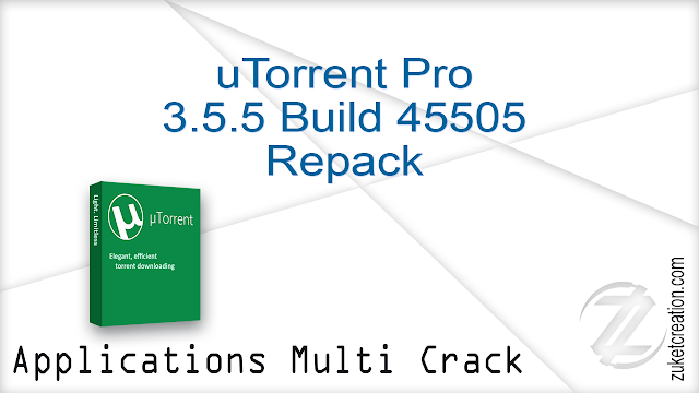 uTorrent Pro 3.5.5 Build 45505 Repack