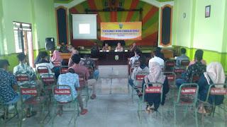 Dua Anggota Koramil 05/Mayong Berikan Penyuluhan Tentang Kenakalan Remaja
