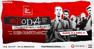 LA BODA | Teatro Nacional