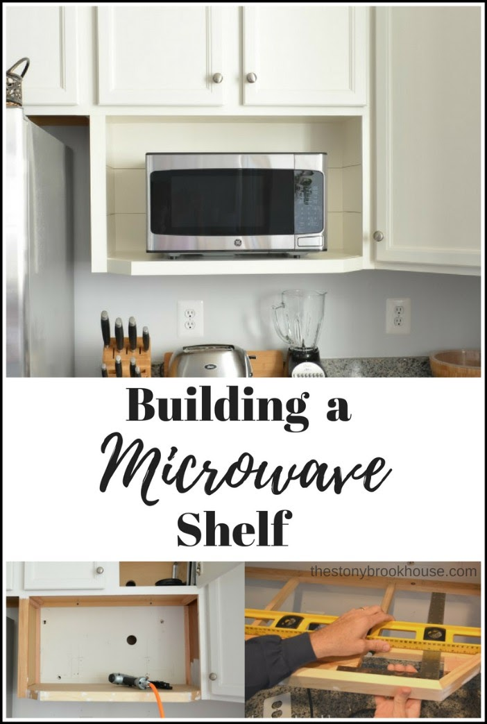 Building A Microwave Shelf