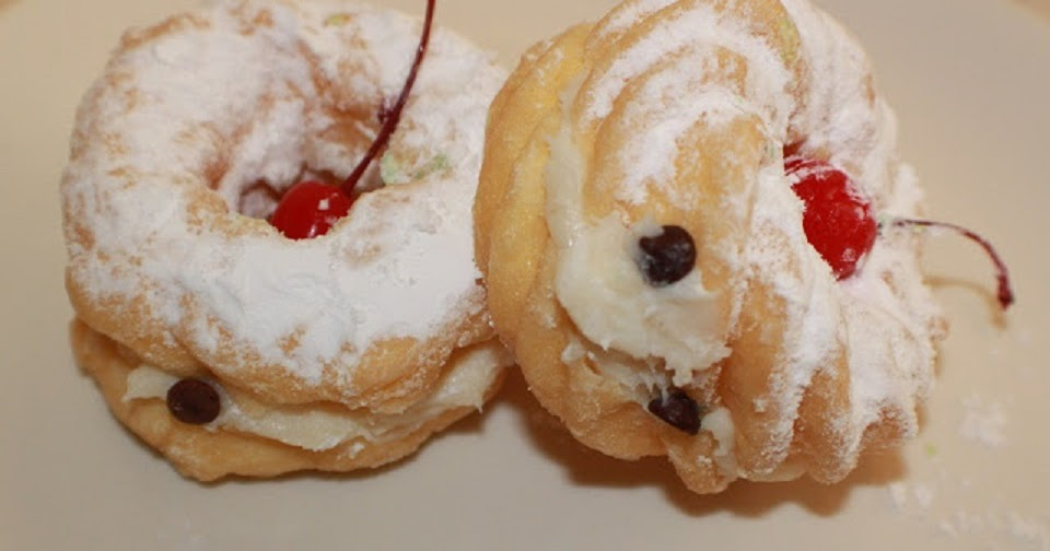 Zeppole DI San Giuseppe St. Joseph's Day Cream Puffs ...