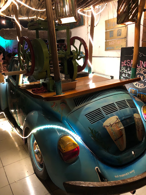 Tulum, travel guide, what to do in Tulum, sugarcane, Batey Mojito Bar, VW Bug