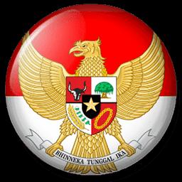 Logo DLS Indonesia Garuda Merah Putih