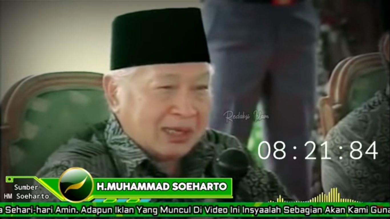VIRAL! Pernyataan Presiden Soeharto 25 Tahun Lalu Menjadi Kenyataan: Hancur Bangsa Kita!