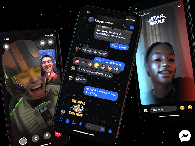 Introducing Star Wars-Themed Messenger Features