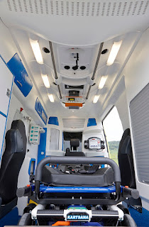 Intérieur ambulance Delfis