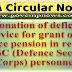 Condonation of deficiency in service for grant of 2nd service pension in respect of DSC (Defence Security Corps) personnel - PCDA Circular No. 589