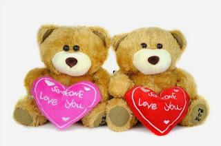 Boneka beruang love 28